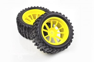 HSP wheel with rim and tyre