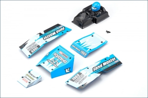Kyosho Body Parts Set (Blue/SAND MASTER)