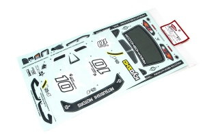Kyosho Decal Set Lancer Evolution X KX4 FAZER