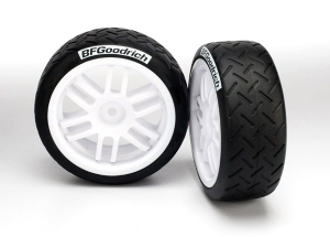 Tires and wheels, assembled, glued (Rally wheels, BFGoodrichВ® Rally tires) (2)