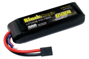 LiPo 11,1В(3S) 6400mAh 30C Soft Case Traxxas plug for TRAXXAS
