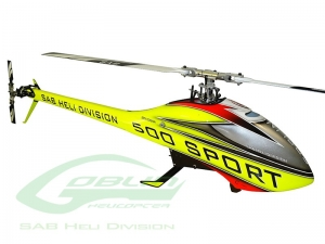 Goblin 500 Sport Combo Yellow/Red